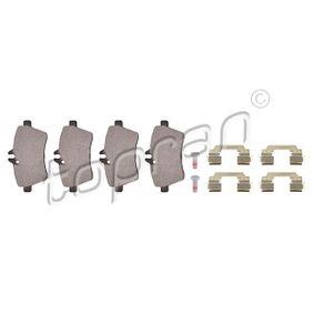 Brake Pad Set, disc brake Thickness 1: 19,1mm with OEM Number 169 420 13 20