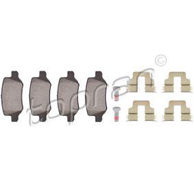 2009 Mercedes W169 A 180 CDI 2.0 (169.007, 169.307) Brake Pad Set, disc brake 401 439