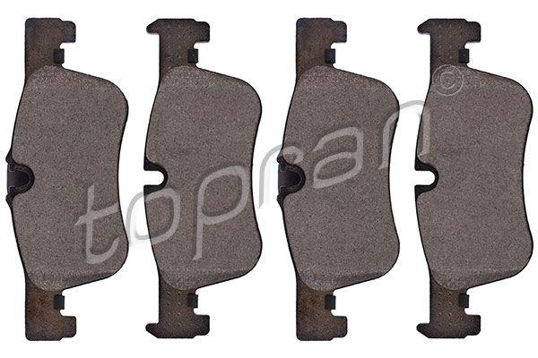 TOPRAN  502 480 Bremsbelagsatz, Scheibenbremse Dicke/Stärke 1: 18,4mm