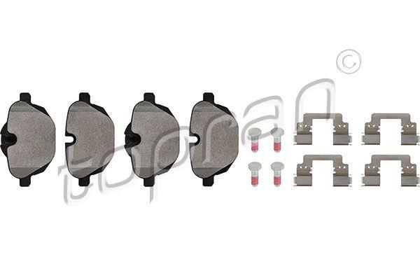 TOPRAN  502 115 Bremsbelagsatz, Scheibenbremse Dicke/Stärke 1: 18,0mm