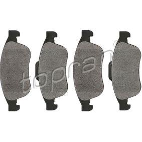 Bremsbelagsatz, Scheibenbremse Dicke/Stärke 1: 18,0mm mit OEM-Nummer 410605961R