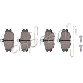 Bremsbelagsatz, Scheibenbremse Dicke/Stärke: 18,2mm mit OEM-Nummer 77 012 048 33