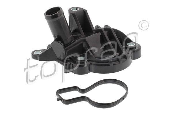 TOPRAN  820 515 Bremsscheibe Bremsscheibendicke: 24mm, Felge: 5-loch, Ø: 254mm