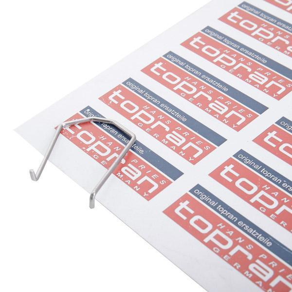 Haltefeder, Kühlmittelflansch-Verschlussstopfen 113 860 TOPRAN 113 860 in Original Qualität