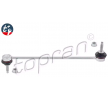 Stabilizer bar link TOPRAN t t+, Front axle both sides