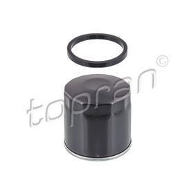 TOPRAN  115 022 Ölfilter Ø: 78mm, Höhe: 77mm