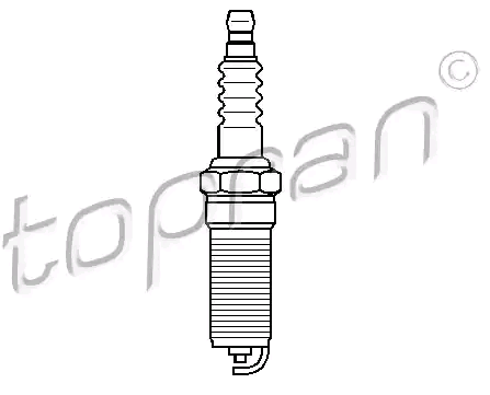 Zündkerzen 302 012 TOPRAN 14KR8MUV in Original Qualität