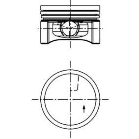 Kolben 40219600 TWINGO 2 (CN0) 1.2 16V Bj 2020
