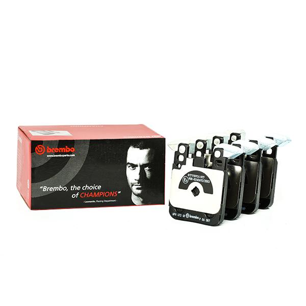 Disk Pads BREMBO P 06 087 expert knowledge