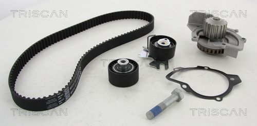 TRISCAN  8647 100504 Water pump and timing belt kit
