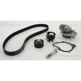 Water pump and timing belt kit with OEM Number 9M5Q 8B596 AA