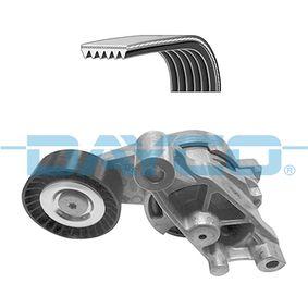Passat B6 2.0TDI 16V 4motion Keilrippenriemensatz DAYCO KPV252 (2.0 TDI 16V 4motion Diesel 2010 CBAB)