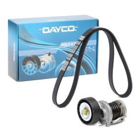 Passat B6 2.0TDI 16V 4motion Keilrippenriemensatz DAYCO KPV262 (2.0 TDI 16V 4motion Diesel 2006 CBAB)
