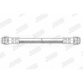 Bremsschlauch Länge: 168mm, Gewindemaß 2: F 10X1 mit OEM-Nummer 6X0611775
