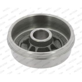 Bremstrommel Trommel-Ø: 180,2mm, Br.Tr.Durchmesser außen: 208mm mit OEM-Nummer 6001 548 126