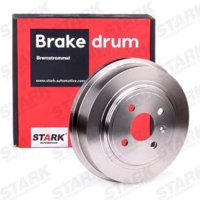 2007 Vauxhall Astra H 1.8 Brake Drum SKBDM-0800120