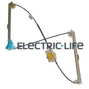 ELECTRIC LIFE Fensterheber ZR AD703 L für AUDI A4 (8E2, B6) 1.9 TDI ab Baujahr 11.2000, 130 PS