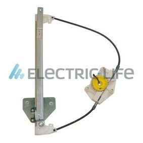 ELECTRIC LIFE Fensterheber ZR AD711 L für AUDI A4 (8E2, B6) 1.9 TDI ab Baujahr 11.2000, 130 PS