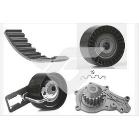 Water pump and timing belt kit with OEM Number 1 753 587