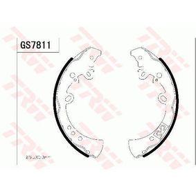 TRW  GS7811 Bremsbackensatz Breite: 61,5mm