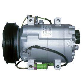 LIZARTE Kompressor, Klimaanlage 81.14.02.019 für AUDI 80 (8C, B4) 2.8 quattro ab Baujahr 09.1991, 174 PS