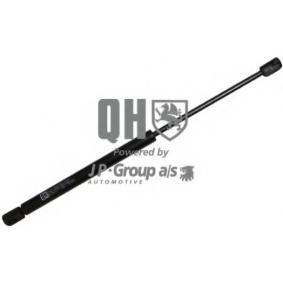 JP GROUP  4381200509 Heckklappendämpfer / Gasfeder Länge über Alles: 412mm, Hub: 155mm