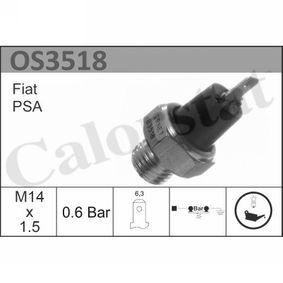 Oil Pressure Switch with OEM Number 14 50 185