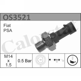 Oil Pressure Switch OS3521 PUNTO (188) 1.2 16V 80 MY 2006