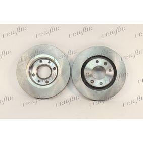 Bremsscheibe Bremsscheibendicke: 22mm, Ø: 265mm mit OEM-Nummer 4246W7