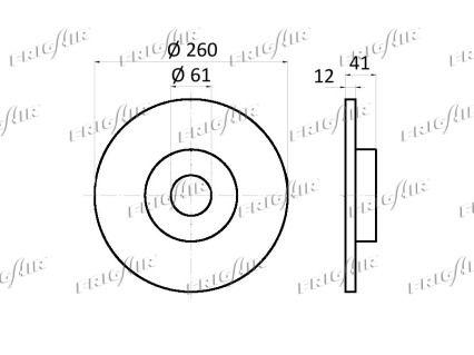 Scheibenbremsen FRIGAIR DC09.102 Bewertung