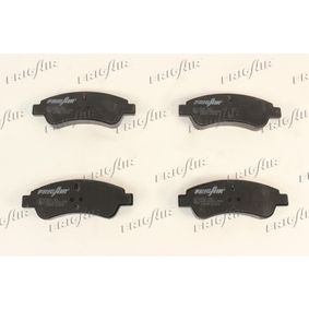 Brake Pad Set, disc brake Width: 136mm, Height: 51mm, Thickness: 18mm with OEM Number E 172 124