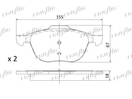 Bremsklötze FRIGAIR PD05.501 Erfahrung