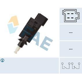 Interruptor de Luz de Freno MERCEDES-BENZ CLASE A (W168) A 160 (168.033, 168.133) de Año 07.1997 102 CV: Interruptor luces freno (24785) para de FAE