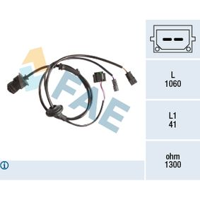 Sensor, Raddrehzahl Art. Nr. 78209 120,00€