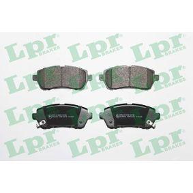 Bremsbelagsatz, Scheibenbremse Breite: 125,6mm, Höhe: 51,6mm, Dicke/Stärke: 16,5mm mit OEM-Nummer 24285