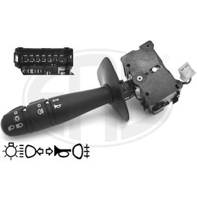 Steering Column Switch Number of connectors: 15, with high beam function, with horn, with indicator function, with light dimmer function, with rear fog light function with OEM Number 25540 00QAJ