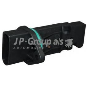 JP GROUP Luftmassenmesser 1193901800 für AUDI A4 (8E2, B6) 1.9 TDI ab Baujahr 11.2000, 130 PS
