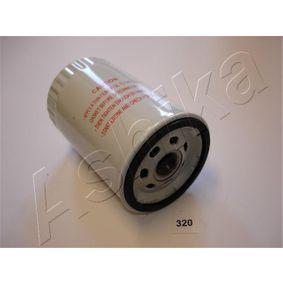Ölfilter Ø: 75,6mm, Länge: 122mm, Länge: 122mm mit OEM-Nummer ZZM1-23802A