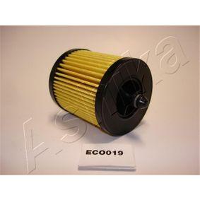 Filtro de aceite 10-ECO019 Vectra C Berlina (Z02) 2.0 16V Turbo (F69) ac 2006