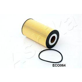 ASHIKA  10-ECO064 Ölfilter Ø: 83mm, Innendurchmesser: 34mm