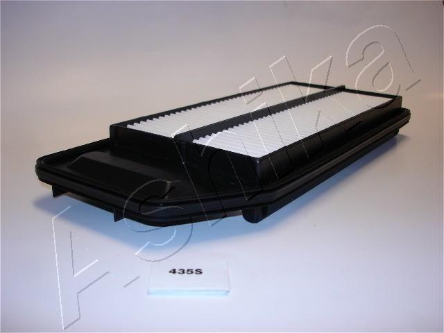 ASHIKA  20-04-435 Filtro de aire Long.: 340,8mm, Ancho: 149,5mm, Ancho 1: 100mm, Altura: 40,2mm, Long.: 270mm