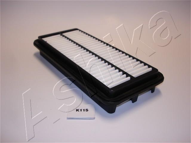 ASHIKA  20-0K-011 Filtro de aire Long.: 253mm, Ancho: 115mm, Altura: 39mm