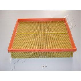 ASHIKA  20-0L-L01 Luftfilter Länge: 247mm, Breite: 207mm, Höhe: 58mm