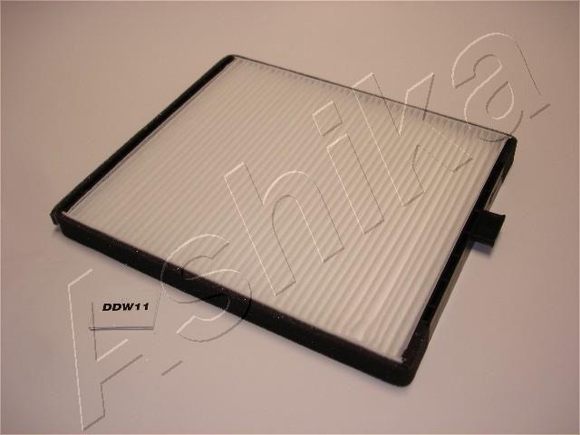 ASHIKA  21-DW-W11 Filtro, aire habitáculo Long.: 240mm, Ancho: 202mm, Altura: 19mm