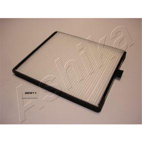 Filtro, aire habitáculo Long.: 240mm, Ancho: 202mm, Altura: 19mm con OEM número EC 965 396 49