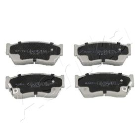 Bremsbelagsatz, Scheibenbremse Höhe: 48mm, Dicke/Stärke: 15,8mm mit OEM-Nummer 4106050-Y90