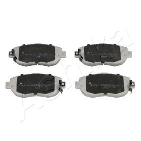 Bremsbelagsatz, Scheibenbremse Höhe: 63,7mm, Dicke/Stärke: 17mm mit OEM-Nummer 0446522311