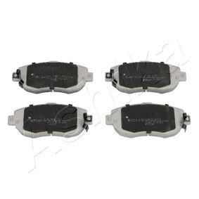 Bremsbelagsatz, Scheibenbremse Höhe: 63,7mm, Dicke/Stärke: 17mm mit OEM-Nummer 04465-30272