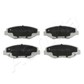 2008 Honda Accord CL7 2.4 Brake Pad Set, disc brake 50-04-401