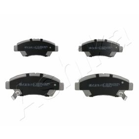 Brake Pad Set, disc brake Height: 58,3mm, Thickness: 16mm with OEM Number 45022TR2A01